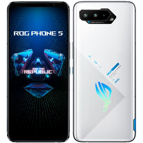 ASUS ZS673KS-WH256R16 [ASUS ROG Phone 5 (Snapdragon888_5G Android11 6.78 16GB 256GB ストームホワイト)]