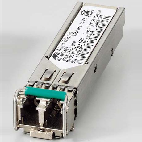アライドテレシス XFP/SFP+/QSFP+/SFPモジュール 0125RT7 [AT-SPZX80-T7 AC SFPモジュール]