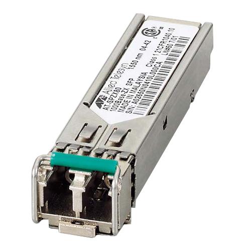 アライドテレシス XFP/SFP+/QSFP+/SFPモジュール 0125RZ7 [AT-SPZX80-Z7 SFP(mini-GBIC)モジュール]