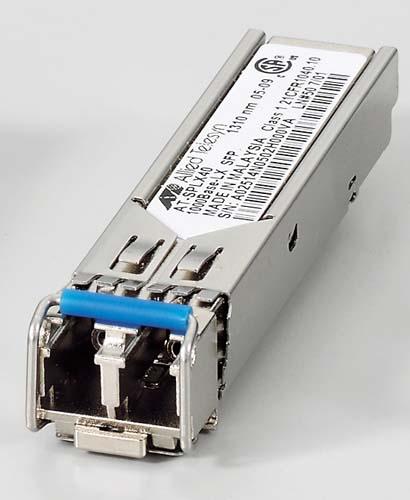 アライドテレシス XFP/SFP+/QSFP+/SFPモジュール 0124RN5 [AT-SPLX40-N5 AC SFPモジュール]