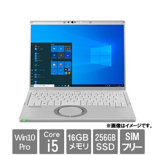 パナソニック Let's note FV1 CF-FV1RFAVS [FV1 法(Core i5 16GB SSD256GB 14.0 Win10Pro64 LTE 電池L 顔認証)]
