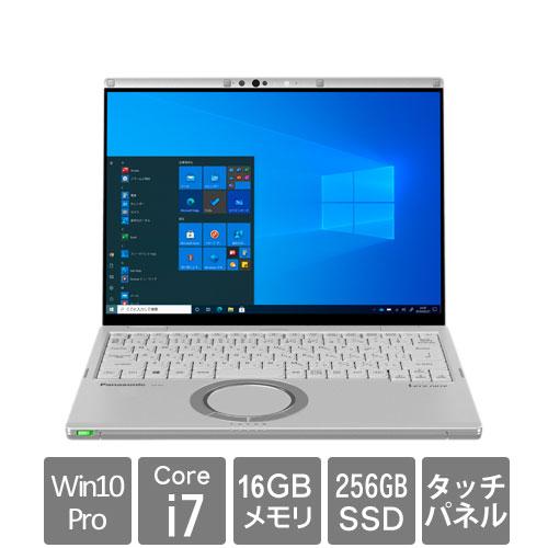 パナソニック Let's note FV1 CF-FV1SDKVS [FV1 法(Core i7 16GB SSD256GB 14.0静電タッチ Win10Pro64 電池L 顔認証)]