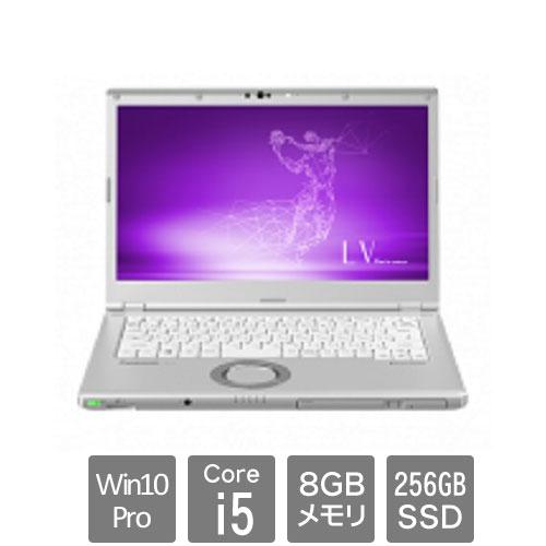 パナソニック Let's note LV8 CF-LV8KD5VS [LV8 DIS専(Core i5 8GB SSD256GB 14.0FHD Win10Pro64 電池S)]