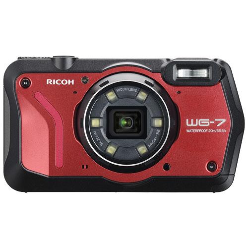 WG-7 RED [防水デジタルカメラ レッド]