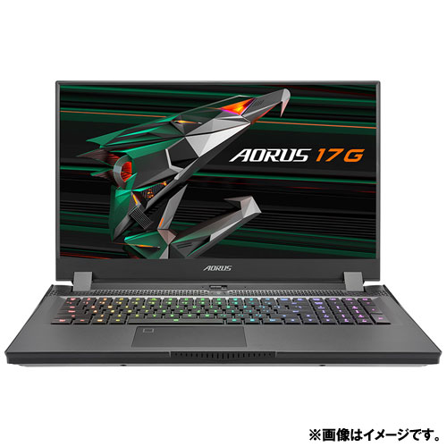 ギガバイト GIGABYTE AORUS 17G AORUS 17G KD-72JP325SH [AORUS 17G (Core i7 16GB 512GB 17.3FHD Win10Home RTX3060)]