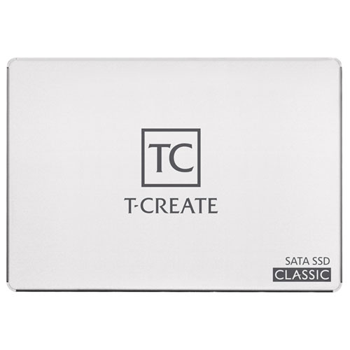 Team T253TA001T3C601 [1TB T-CREATE CLASSIC SSD 2.5インチ 7mm SATA III TLC SMI 800TBW 3年保証]