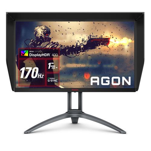 AOC AGON AG273QXP/11 [27型ワイドゲーミング液晶ディスプレイ/2560×1440/HDMI DisplayPort /ブラック]