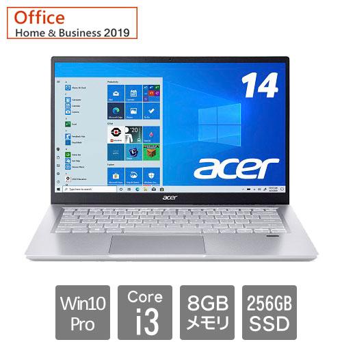 エイサー Swift 3 [SF314-511P-N38UB9(Core i3 8GB SSD256GB 14.0FHD Win10Pro64 H&B2019)]