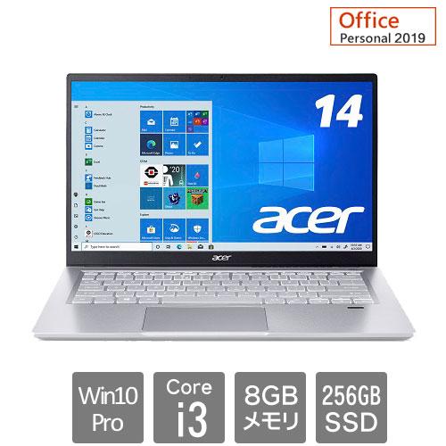 エイサー Swift 3 [SF314-511P-N38UL9(Core i3 8GB SSD256GB 14.0FHD Win10Pro64 Personal2019)]