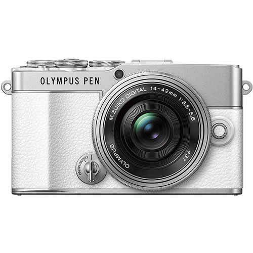 OLYMPUS PEN E-P7 14-42mmEZ LK WHT [ミラーレス一眼 E-P7 14-42mm EZキット (ホワイト)]