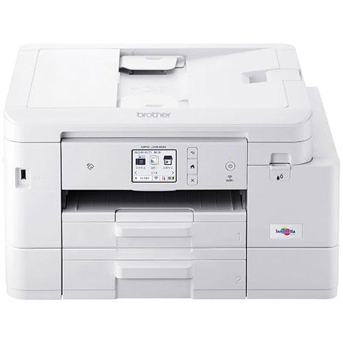 ブラザー MFC-J4540N [大容量ファーストタンク Wi-Fi/FAX/自動両面印刷/ADF/2段トレイ/在宅ワーク向け]