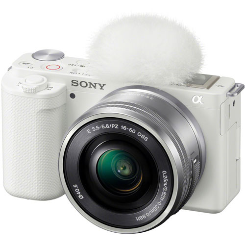 ソニー(SONY) ZV-E10L/W [デジタル一眼カメラ VLOGCAM パワーズームキット ホワイト]