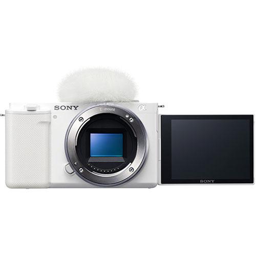 ソニー(SONY) ZV-E10/W [デジタル一眼カメラ VLOGCAM ボディ ホワイト]