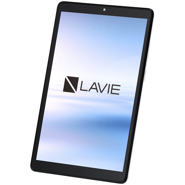 NECパーソナルプロダクツ PC-T0875CAS [LAVIE T8 T0875/CAS プラチナグレー(Helio P22T 6GB eMMC128GB Android11 8型)]