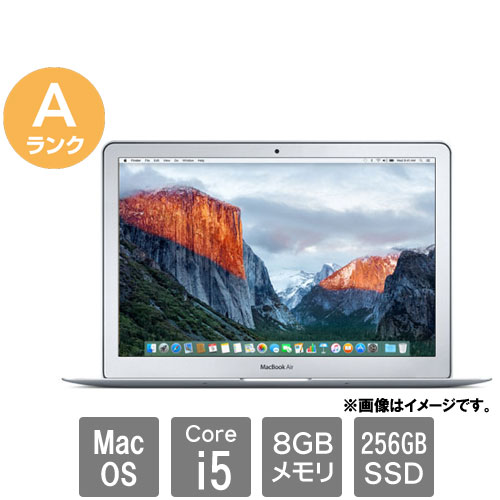 Apple ★中古パソコン・Aランク★MacBook Air 7.2(Core i5 8GB SSD256GB 13.3 MacOS10.15.7)