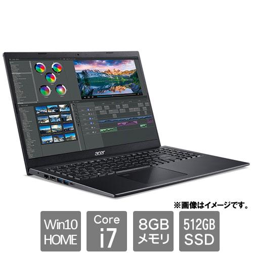 エイサー Aspire 5 [A515-56-A78Y/K (Core i7 8GB SSD512GB 15.6FHD Win10Home64 チャコールブラック)]