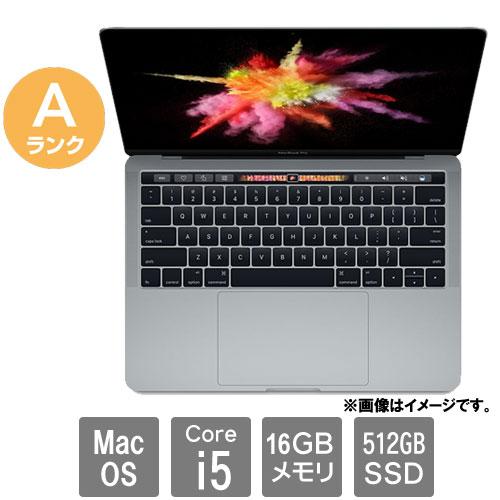 Apple ★中古パソコン・Aランク★C02TL10KHF1R [MacBook Pro 13.2(Core i5 16GB SSD512GB 13.3 MacOS)]