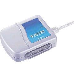 エレコム JC-PS101USV  [USBtoPSゲームパッドコンバータ 1ポート(シルバー)]