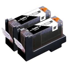 エレコム ECI-CA03B2P [エコリカ リサイクルインクカートリッジ CANON BCI-3eB 黒 2個パック]