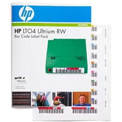 HP(Enterprise) Q2009A [HP LTO4 Ultrium RW バーコードラベル パック]