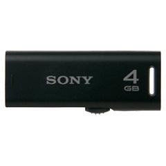 ソニー(SONY) USM4GR B [スライドアップ USBメモリー ポケットビット 4GB ブラック]