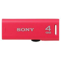 ソニー(SONY) USM4GR P [スライドアップ USBメモリー ポケットビット 4GB ピンク]