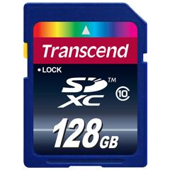 TS128GSDXC10 [128GB SDXC カード Class 10]