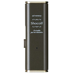 エレコム MF-XWU308GBW [USB3.0 スライド式USBメモリ/8GB/ビターブラウン]