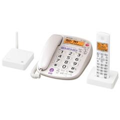 シャープ JD-VF1CL [デジタル親・子電話線コードレス電話機(子機1台)]