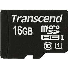 TS16GUSDCU1 [16GB microSDHC Class10 UHS-Iカード]