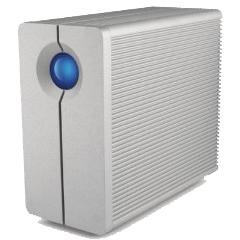 エレコム(LaCie) LCH-2BQ060Q3 [USB3.0/2.0/FireWire800対応 RAID 0/1機能搭載 外付HDD/6TB]