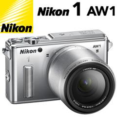 ニコン Nikon 1 AW1 防水ズームレンズキット シルバー
