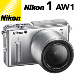 Nikon 1 AW1 防水ズームレンズキット シルバー_画像0