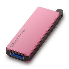 RUF3-PW32G-PK [オートリターン機能搭載 USB3.0対応 USBメモリー 32GB ピンク]