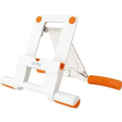 TPS-03 WHITEWithORANGE [TPS-03 タブレットスタンド ホワイトWithオレンジ]
