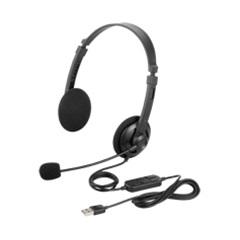 バッファロー(サプライ) BSHSUH12BK [両耳ヘッドバンド式ヘッドセット USB接続 ブラック]