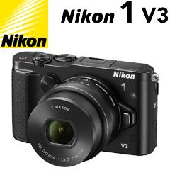 Nikon 1 V3 標準パワーズームレンズキット ブラック