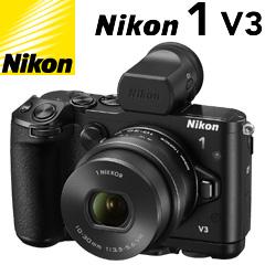 ニコン Nikon 1 V3 プレミアムキット ブラック