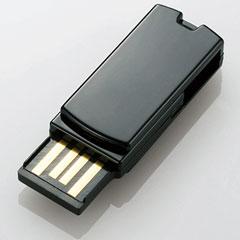 エレコム MF-RSU208GBK/E [超小型回転式USB2.0メモリ/8GB/ブラック/FFP]