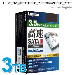 ロジテック LHD-D3000SAK2 [3.5インチ内蔵HDD/3TB/SATAIII]