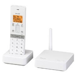 シャープ JD-SF1CL-W [デジタル親・子コードレス電話機(子機1台) ホワイト系]