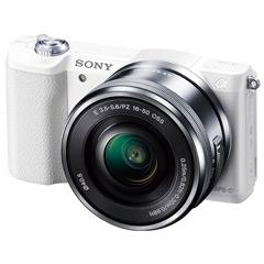 ソニー(SONY) デジタル一眼カメラα Eマウント ILCE-5100L/W [デジタル一眼カメラ α5100パワーズームキット ホワイト]