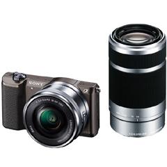 デジタル一眼カメラα Eマウント ILCE-5100Y/T [デジタル一眼カメラ α5100Wズームキット ブラウン]