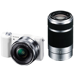デジタル一眼カメラα Eマウント ILCE-5100Y/W [デジタル一眼カメラ α5100Wズームキット ホワイト]