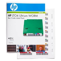HP(Enterprise) Q2010A [HP LTO4 Ultrium WORM バーコードラベル パック]