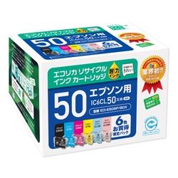エレコム ECI-E506P/BOX [エコリカ リサイクルインク/エプソン/IC6CL50対応]