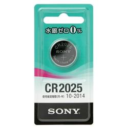 ソニー(SONY) CR2025-ECO [水銀0%リチウムコイン電池 CR2025]