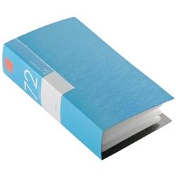 BSCD01F72BL [BUFFALO CD&DVDファイルケース ブックタイプ 72枚収納 ブルー]