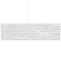 バッファロー(サプライ) BSKBM01WH [フルキーボード USB接続 パンタグラフ Macモデル ホワイト]