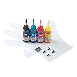サンワサプライ INK-C7S30S4 [詰め替えインク]